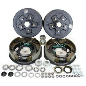 5 4 5 Bolt Circle 3 500 Lbs Trailer Axle Self Adjusting Electric Brake Kit