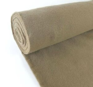 5 Yards Light Brown Upholstery Un backed Automotive Trim Carpet 40 x15 Ft Roll