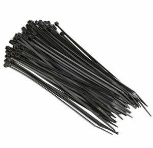 10000 Pack Pcs 4 Black Cable Wire Tie 18 Lbs Strength Zip Nylon Ties Us Ul