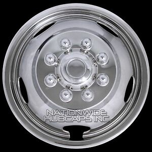 1 Single Front For Dodge Ram 3500 03 19 17 Wheel Simulators Dual Liners Covers