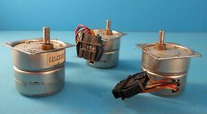Nippon Pulse Motor Co Pf42 48e1 tin Can Stepper Motor Lot Of 3