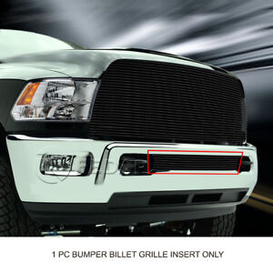Black Lower Bumper Billet Grille Grill For Dodge Ram 2500 3500 2013 2017