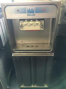 Taylor 168 27 Three Head Twist Ice Cream Machine Air Cooled