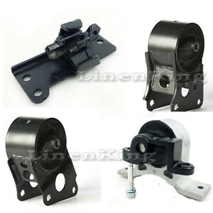Engine Motor At Trans Mounts For 04 09 Nissan Altima Quest Maxima 3 5l New