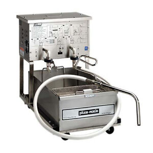 Pitco Rp14 Portable Fryer Filter 55 Lb Capacity W Reversible Pump