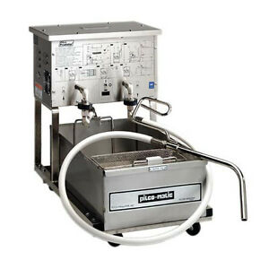Pitco Rp18 Portable Fryer Filter 75 Lb Capacity W Reversible Pump