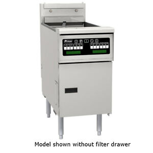 Pitco Selv14 c fd Reduced Oil Volume Electric Fryer With Filter Drawer