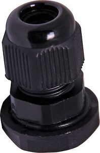 Lot Of 40 1 2 Npt Strain Relief Cord Grip Cable Gland With Lock nut New