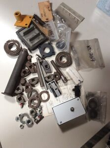 Lot Old Style Repair Parts For Weaver Lift In Ground Auto Lift Center Post