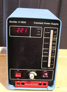Buchler Constant Power Supply Model 3 1500