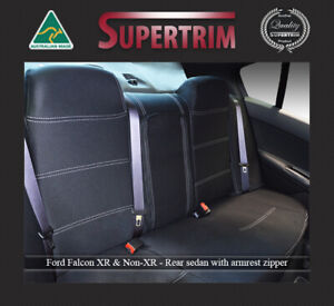 Seat Cover Ford Falcon 02 now Rear Armrest Access Premium Neoprene Waterproof