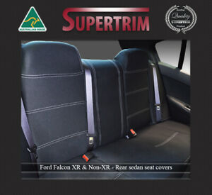Seat Cover Rear Ford Falcon Ba Bf Fg Fgx Xr 100 Waterproof Premium Neoprene