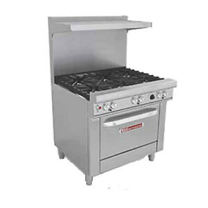 Southbend 4363a 36 Ultimate Restaurant Gas Range