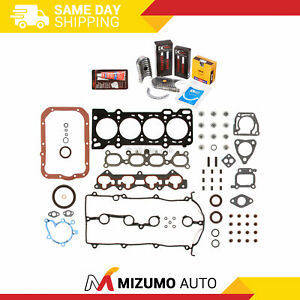 Fit Full Gasket Set Bearings Piston Rings 93 97 Ford Probe Mazda 626 Mx6 Dohc Fs