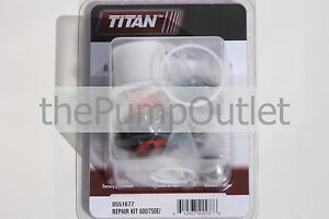 Titan Airless Paint Sprayer Packing Kit 0551677 600 750e Spraytech Epx 2355 oem