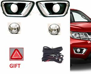 Aftermarket Fog Light Kit For 2015 On Colorado Lamps Bezels Harness Switch Gift