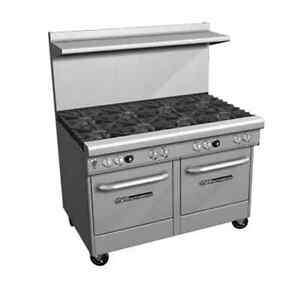 Southbend 4484ee 6l 48 Ultimate Restaurant Gas Range