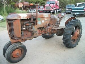 1946 Vac Case Vintage Antique Tractor Tricyle Front Row Crop 45 47 48 49 50 51