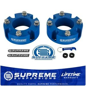 3 Front Spacers Leveling Lift Kit For 2007 2020 Toyota Tundra Sequoia 2wd 4wd