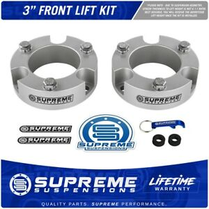 3 Front Leveling Lift Kit For 2005 2020 Toyota Tacoma 4wd 2wd Pro Silver