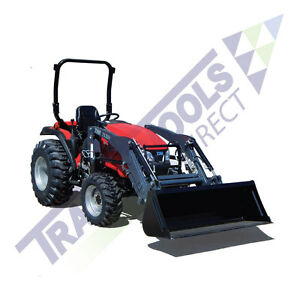 Demo Unit tym T354 Hydrostatic Tractor With Industrial Tires And Front Loader