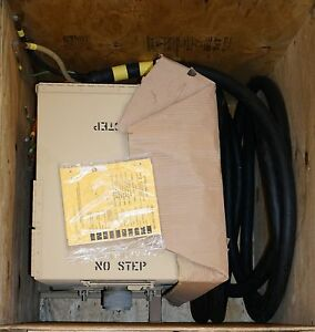 Military Pp 8479 120 208 60kw Mep Generator Distribution Box 50 Ft Power Cable