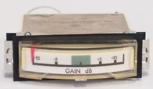 International Instruments Db Gain Panel Meter 1136