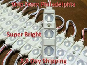 100ft Sansung 5630 Super Bright Led Module White Lens Cool White Waterproof 12v