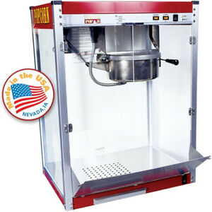 Commercial Popcorn Machine Maker 16 Oz Kettle Popper Movie Theater