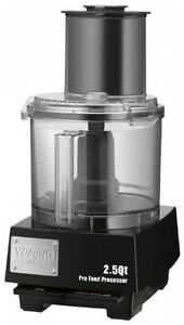 Waring Commercial Wfp11s Batch Bowl Food Processor With Liquilock Seal System
