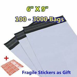 6x9 Poly Mailers Shipping Envelopes Self Sealing Plastic Mailing Bags Wholesale