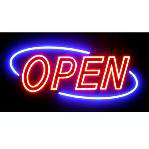 Led Sign Open Information On Purchasing New And Used