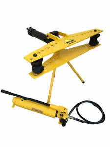 Hydraulic Pipe Tube Bender With Separable Hand Pump 1 2 3 W 3f mp