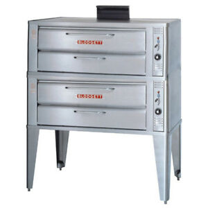Blodgett 961 Double Deck Gas Oven