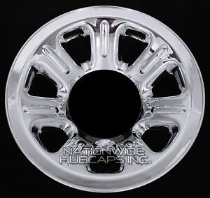 1 2000 2011 Ranger 15 Chrome Wheel Skins Hub Caps Full Covers 7 Spoke Steel Rim