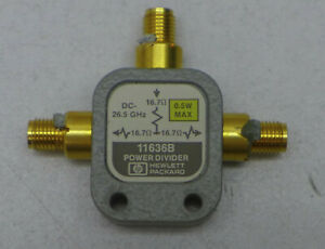 Agilent hp 11636b Power Divider Dc To 26 5 Ghz Working