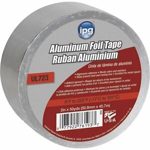 case Of 12 2 Aluminum Foil Tape 2 X 50 Yd