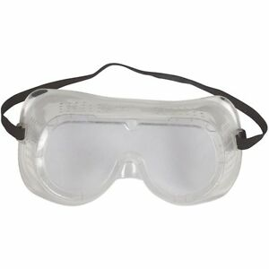 case Of 72 Eye Protection Protective Clear Goggles Glasses Vented Safety
