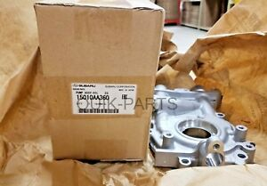 Genuine Subaru 11mm 2 5l Oil Pump Wrx Sti Turbo Oem 15010aa360 Legacy Impreza