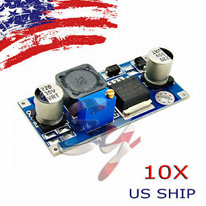 10x Re Dc dc 3a Buck Converter Adjustable Step down Power Supply Module Lm2596s