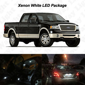 17 X White Led Interior Bulbs Fog Reverse Tag Lights For 2004 2008 Ford F150