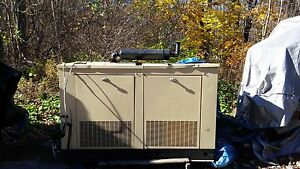Generac 31 Kw Natural Gas Outdoor Generator 433 Hours Chevy 350 Engine
