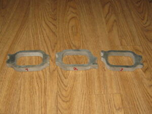 Chevy Straight 6 230 250 292 Aluminum Intake Manifold Flanges 3 8