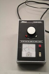 Nikon Microscope Power Source Transformer