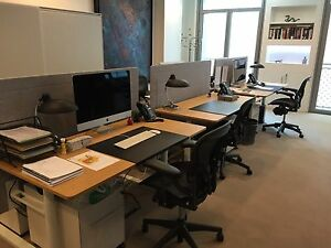 Vitra Tyde Sit stand Desk Workstations new Never Used