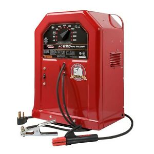 Lincoln Electric Electric Arc stick Welding Machine 225 Amp Open Circuit Voltage