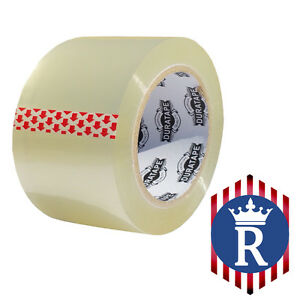 3 X 110 Yd Clear Carton Sealing Box Tape 2 3mil ships Today