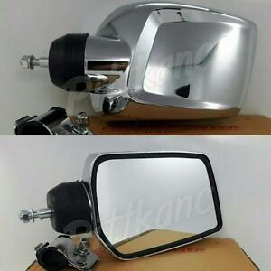 New leaf Dress Up Parts Mirror Classic Side View Door truck Car Universal X2