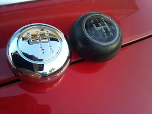 New Chrome Plated Volvo Amazon 120 122 122s Gear Shifter Knob Schaltknauf