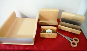 Wooden Organization File Set office Desk